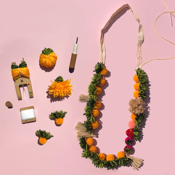 KIT: Pom Pom Necklace (Limited Edition & Custom)