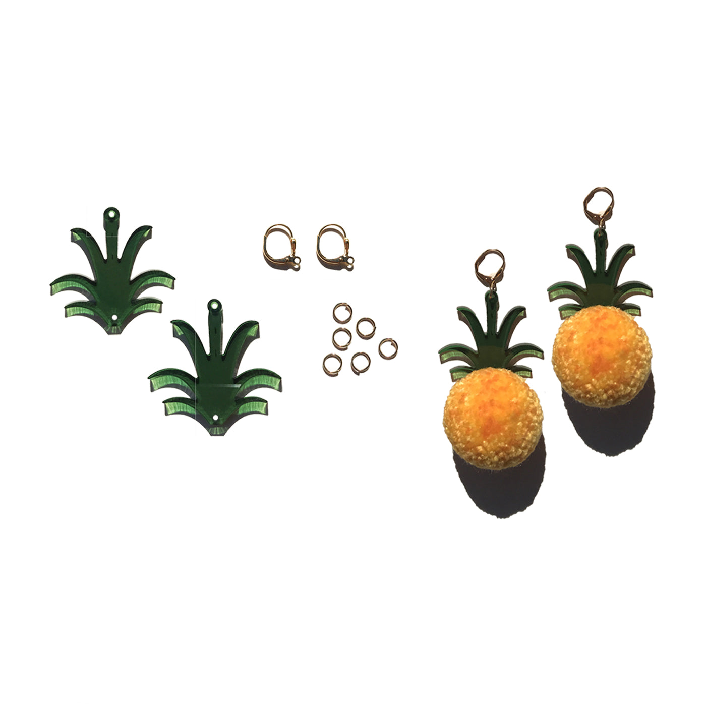 ACCESSORY: Earrings: Fruit Pom Poms