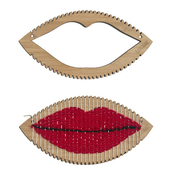 WEAVING LOOM: Lips/Mouth Shape