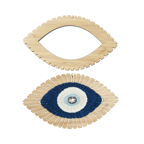 SOLD OUT UNTIL 12/31: WEAVING LOOM: Eye Shape (Round/Semi-Circle/Almond)