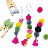 Loome Kit: Pom Pom and Fiber Craft (Brights)