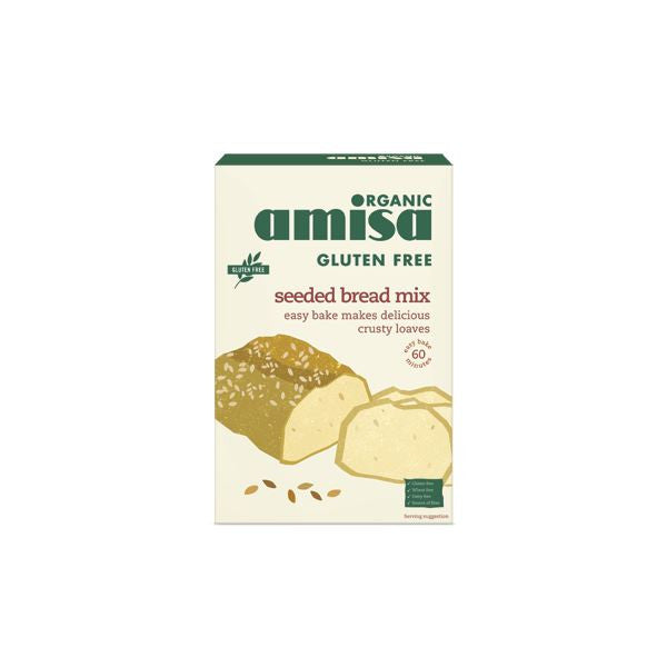 Amisa Seeded Bread Mix Gluten Free 500g - Vitalityfoods