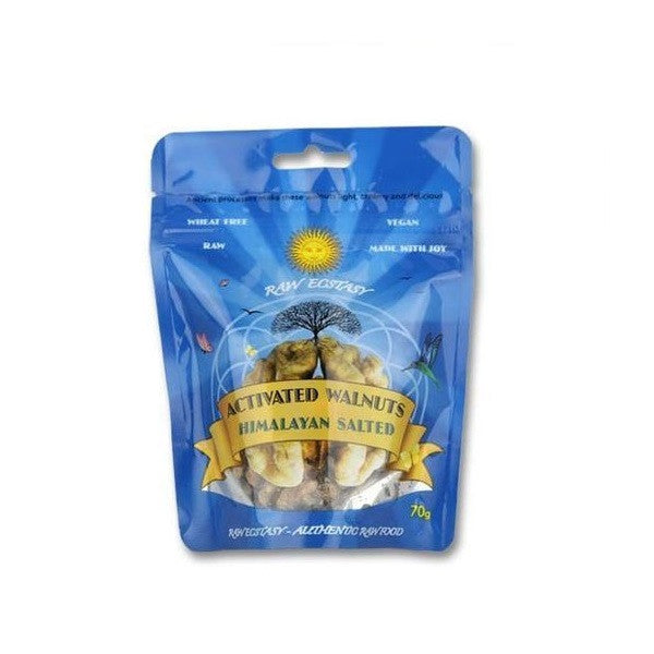 Raw Ecstasy Activated Walnuts RawChocolate 70g - Vitalityfoods
