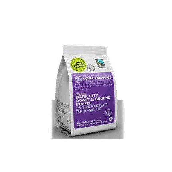 Equal Exchange Org F/T Dark Ground Coffee 227g - Vitalityfoods