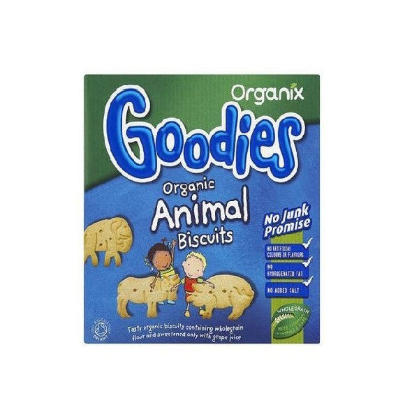 Organix Goodies Animal Biscuits 100g - Vitalityfoods