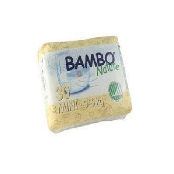 Beaming Baby Bambo Mini Nappies 30'spack - Vitalityfoods