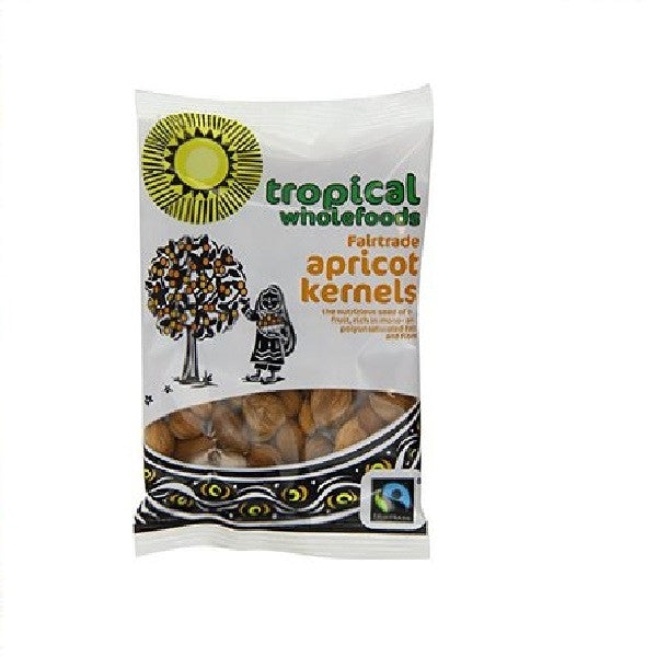 Tropical Wholefoods Apricot Kernals Natural 50g - Vitalityfoods