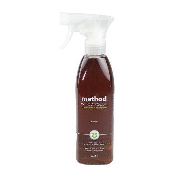 Method Wood Polish Spray Almond 354ml - Vitalityfoods