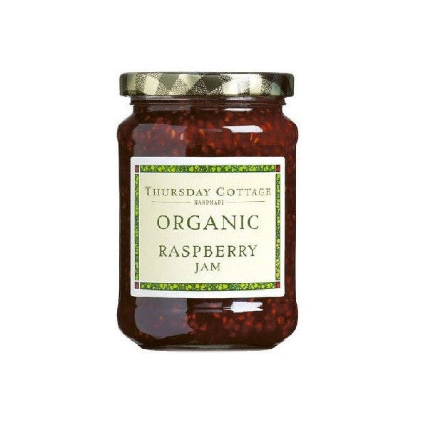 Thursday Cottage Organic Raspberry Jam 340g - Vitalityfoods