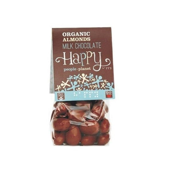 Happy People Org FT Almonds Milk Choc Icing 120g - Vitalityfoods