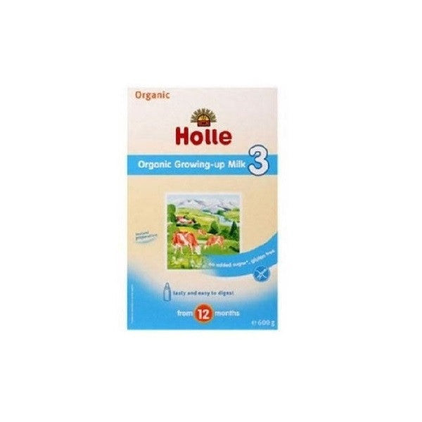 Holle Org Growing Up Milk 3 600g - Vitalityfoods