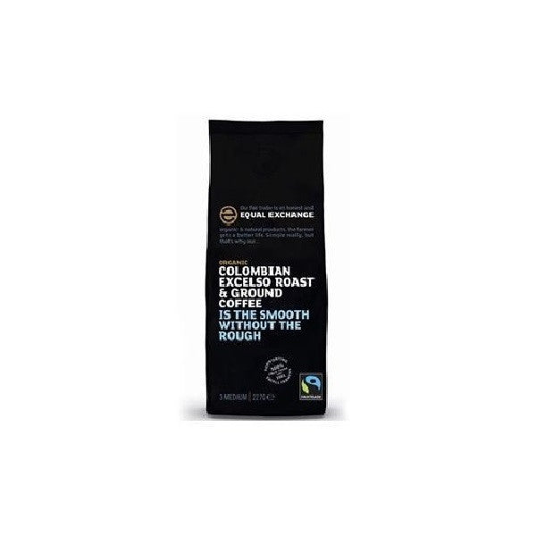 Equal Exchange Org F/T Excelso Grd Coffee 227g - Vitalityfoods