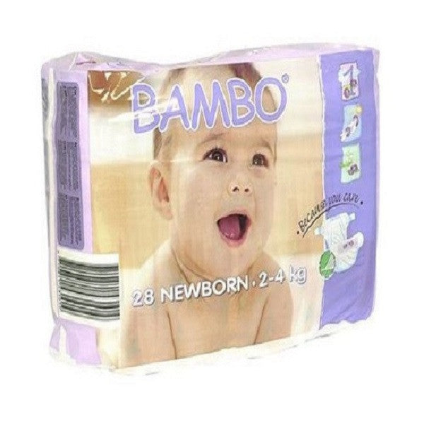 Beaming Baby Bambo Newborn Nappies 28'spack - Vitalityfoods
