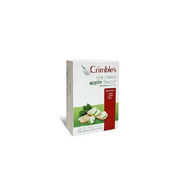 Mrs Crimbles Apple Rice Cakes 140g - Vitalityfoods