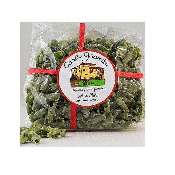 Casa Grande Artisan Pasta Organic Spinach Campanelle 250g - Vitalityfoods