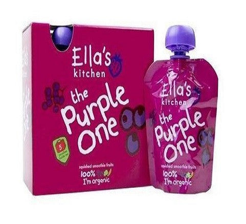 Ellas Kitchen Smthie Frt - Purple One mltpck 5 x 90g - Vitalityfoods