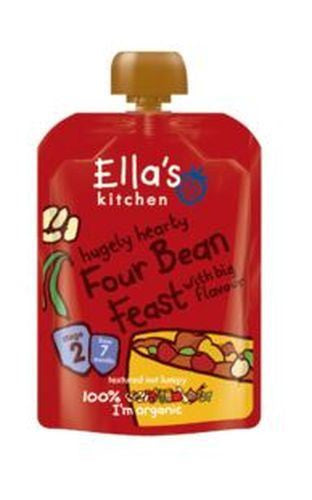 Ellas Kitchen S2 Four Bean Feast 130g - Vitalityfoods