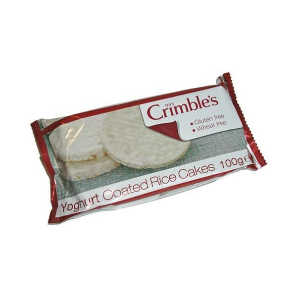 Mrs Crimbles Yoghurt Coated Rice Cakes 100g - Vitalityfoods