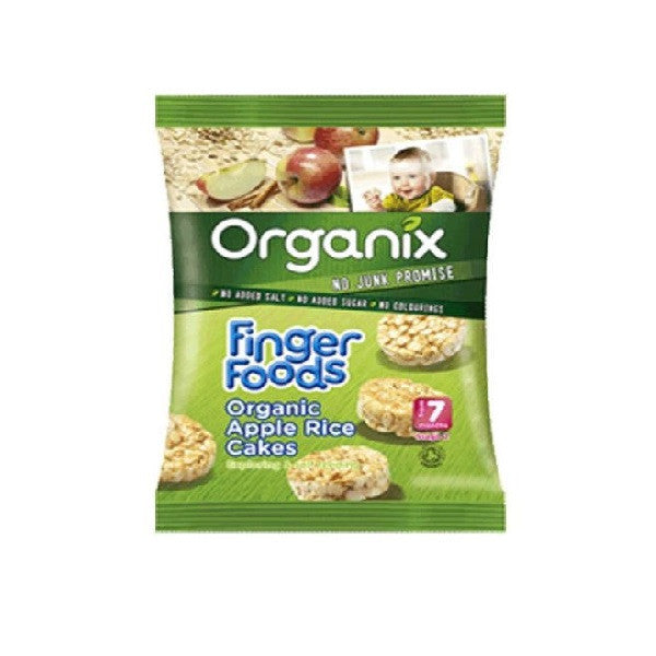 Organix Apple Rice Cakes 50g - Vitalityfoods
