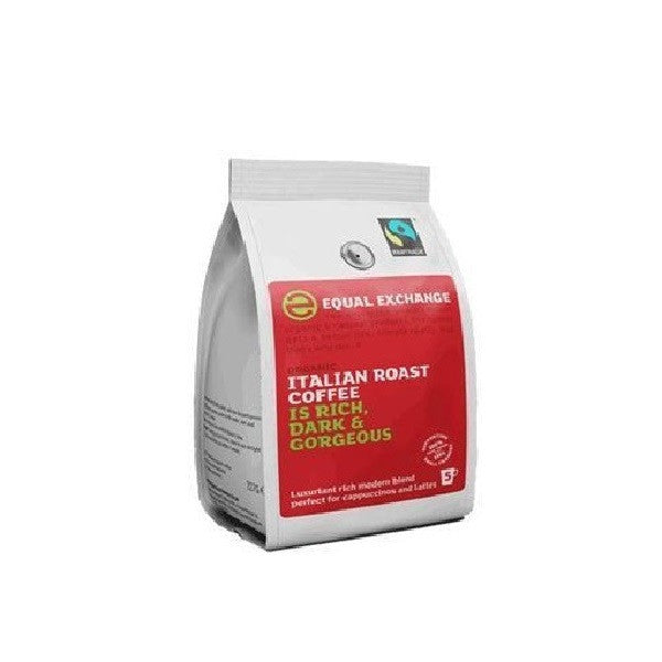 Equal Exchange Org F/T Italian Grd Coffee 227g - Vitalityfoods