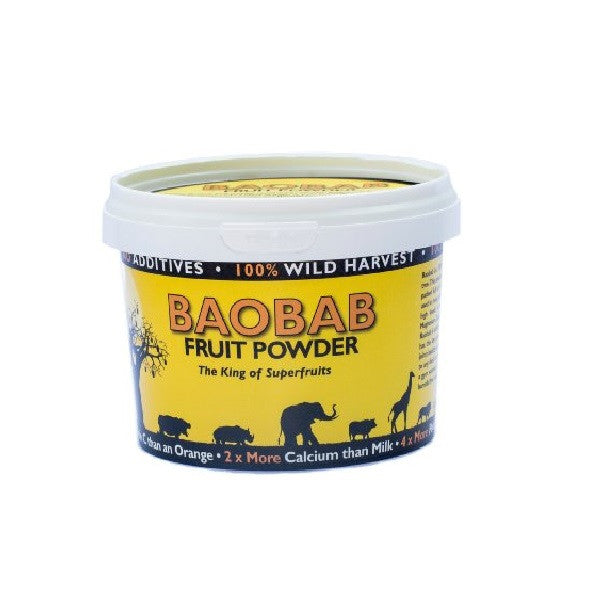 Mighty Baobab Ltd Baobab Fruit Powder 200g - Vitalityfoods
