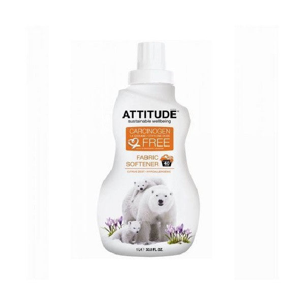 Attitude Fabric Softener Citrus Zest 1000ml - Vitalityfoods