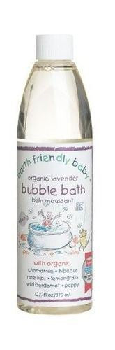 Earth Friendly Baby Calming Lavender Bubble Bath 300ml - Vitalityfoods