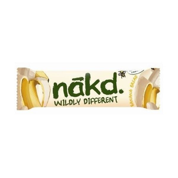 Naked Banana Bread Nibble Bar 30g - Vitalityfoods