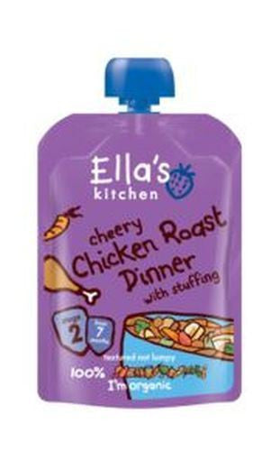 Ellas Kitchen S2 Chicken Roast Dinner 130g - Vitalityfoods