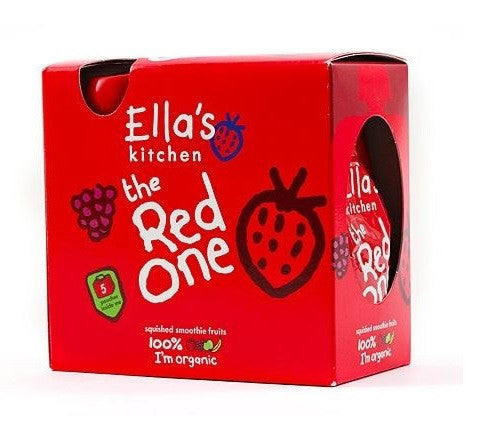 Ellas Kitchen Smthie Frt - Red One multpck 5 x 90g - Vitalityfoods