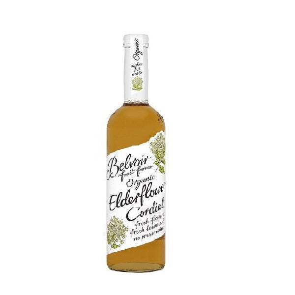 Belvoir Organic Elderflower Cordial 500ml - Vitalityfoods