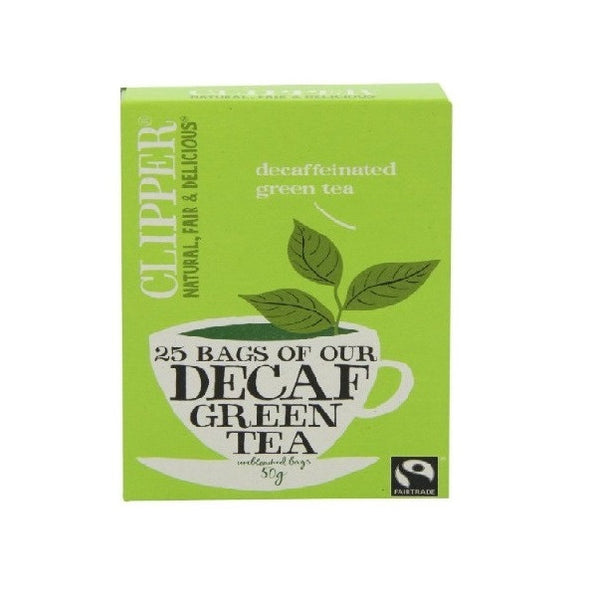 Clipper Decaf Green Tea 25bag - Vitalityfoods