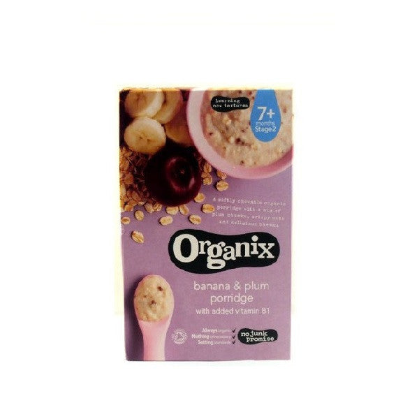 Organix Banana and Plum porridge 200g - Vitalityfoods