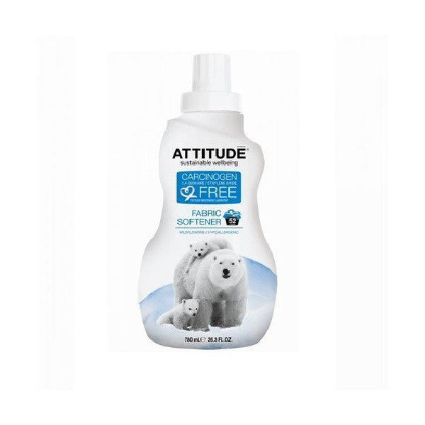 Attitude Fabric Softener Wildflower 1000ml - Vitalityfoods