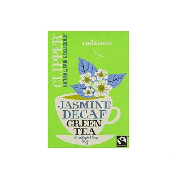 Clipper Decaf Green Tea with Jasmine 20bag - Vitalityfoods