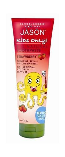 Jason Bodycare Kids Strawberry Toothpaste 119g - Vitalityfoods