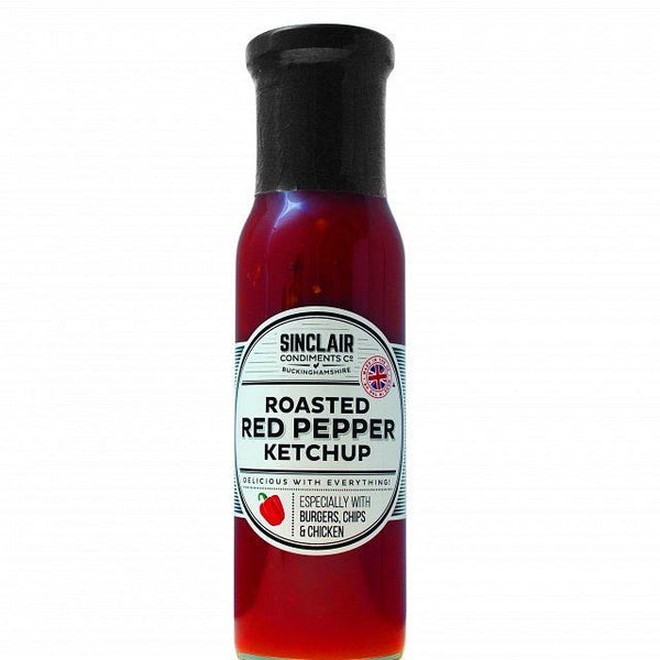 Sinclair Condiments Co. Roasted Red Pepper Ketchup 280 g - Vitalityfoods