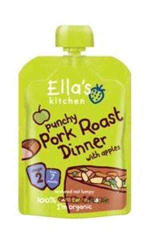 Ellas Kitchen S2 Roast Pork Dinner 130g - Vitalityfoods