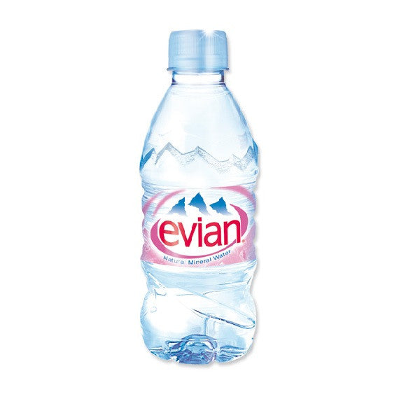 Vitalityfoods Evian Mineral Water 330ml - Vitalityfoods