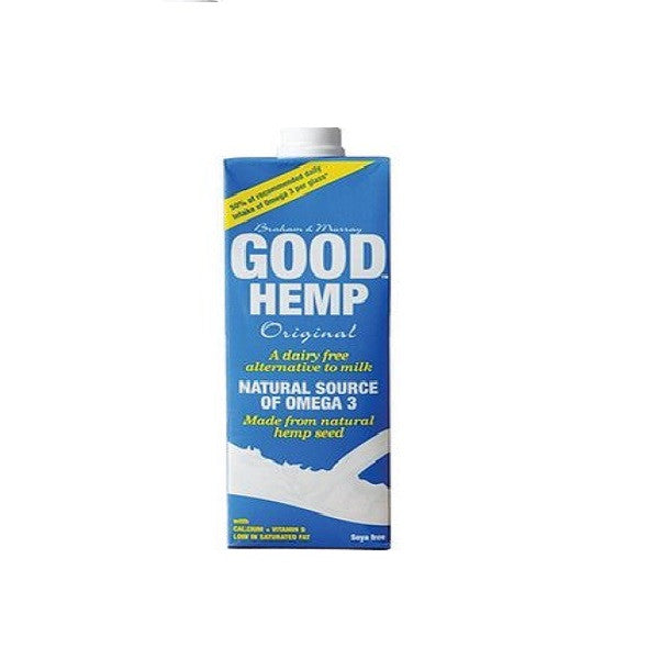 Good Hemp Milk 1000ml - Vitalityfoods