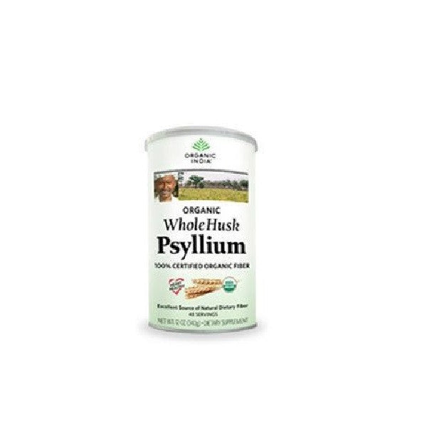 Organic India Org Psyllium Whole Husk 340g - Vitalityfoods