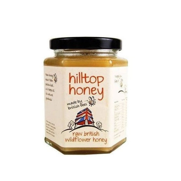 Hilltop Honey Raw British Wildflower Honey 110g - Vitalityfoods