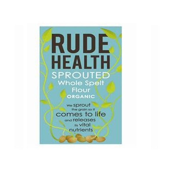 Rude Health Org Sprouted Whole Spelt Flour 500g - Vitalityfoods