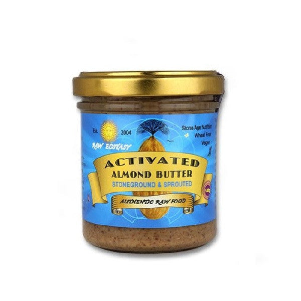 Raw Ecstasy Activated Almond Nut Butter 140g - Vitalityfoods