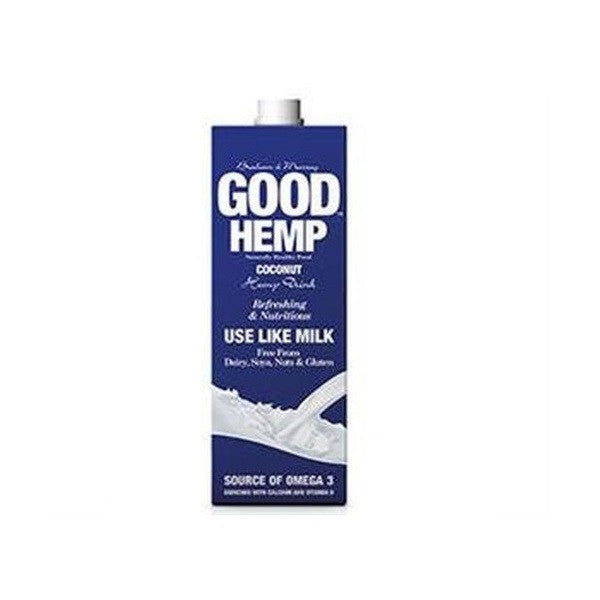 Good Hemp Milk Coconut Flavour 1000ml - Vitalityfoods