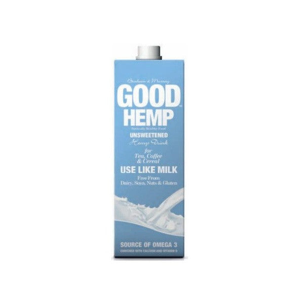 Good Hemp Milk Unsweetened 1000ml - Vitalityfoods