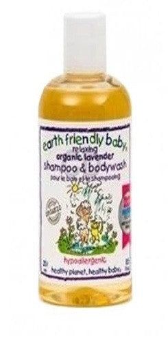 Earth Friendly Baby Lavender Shampoo - Ecocert 250ml - Vitalityfoods