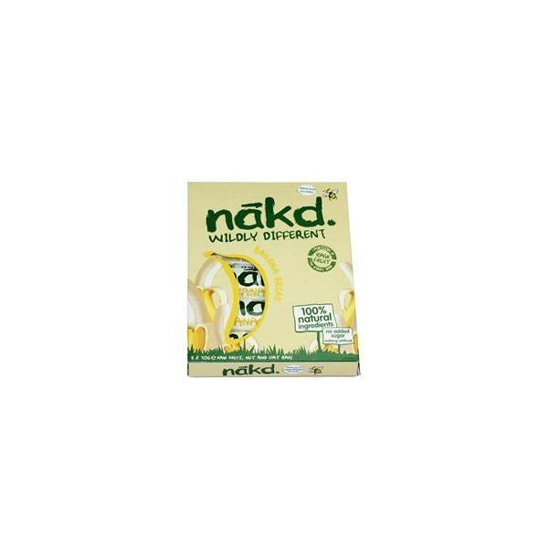 Naked Banana Bread MP 4 X30g - Vitalityfoods