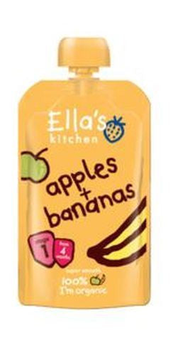 Ellas Kitchen S1 Apples & Bananas 120g - Vitalityfoods