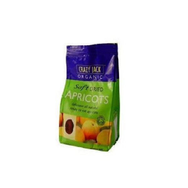 Crazy Jack Organic Soft Dried Apricots 250g - Vitalityfoods